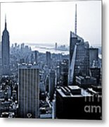 New York Skyline Metal Print by Thomas Splietker