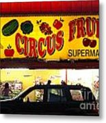 Night At The Supermarket Metal Print by Mark Gilman