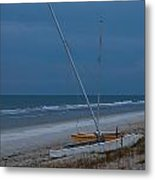No Sailing Today Metal Print by DigiArt Diaries by Vicky B Fuller