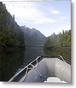 Nobody,boats, Ropes, Islands,horizontal Metal Print by Taylor S. Kennedy