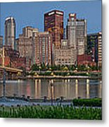 Nor'side Pano Metal Print by Jennifer Grover