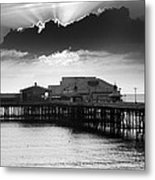 North Pier Metal Print by Aetherial Pictography