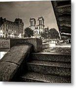Notre-dame De Paris Metal Print by Matthieu Godon