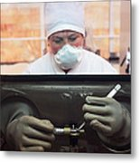 Nuclear Fuel Production, Russia Metal Print by Ria Novosti