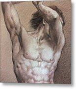 Nude 9 A Metal Print by Valeriy Mavlo