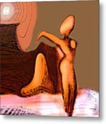 Nude Neoglyph Metal Print by George  Page