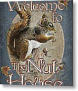 Nut House Metal Print by JQ Licensing