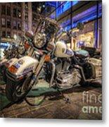 Nypd Bikes Metal Print by Yhun Suarez