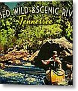 Obed Wild Scenic River Tennessee  Metal Print by Flo Karp