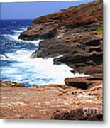 Oceans Beauty Metal Print by Cheryl Young