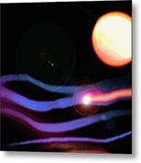 Of The Tribe Of The Moonlit Sea Metal Print by Patricia L Conklin