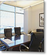 Office Meeting Room Metal Print by Dave & Les Jacobs