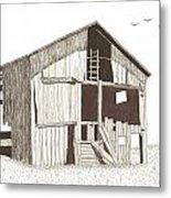 Ohio Barn Metal Print by Pat Price