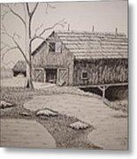 Old Barn Metal Print by William Deering