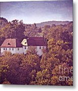 Old Castle Metal Print by VIAINA Visual Artist