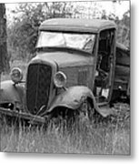 Old Chevy Truck Metal Print by Steve McKinzie