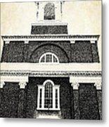 Old Church In Boston Metal Print by Elena Elisseeva