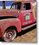 Old Circus Truck Metal Print by Garry Gay