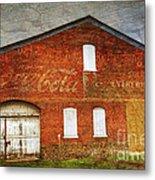 Old Coca Cola Building Metal Print by Paul Ward
