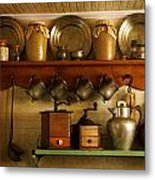 Old Country Life Metal Print by Carmen Del Valle
