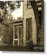 Old Country Porch Metal Print by Joyce Kimble Smith