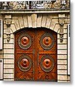 Old Doors Metal Print by Elena Elisseeva