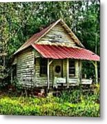 Old Florida Vi Metal Print by Julie Dant
