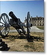 Old Fort Niagara Metal Print by Peter Chilelli