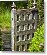 Old Garden Entrance Metal Print by Heiko Koehrer-Wagner