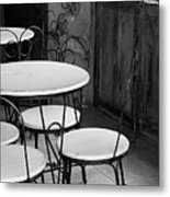 Old Ice Cream Parlor Metal Print by Maryann Flick