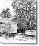 Old Quaker Meeting House Metal Print by Granger
