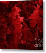 Old Red Metal Print by Marjorie Imbeau