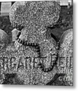 Old Rosary Metal Print by Susan Isakson