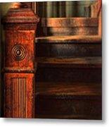 Old Staircase Metal Print by Jill Battaglia