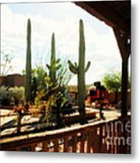 Old Tuscon Movie Studio Theme Park Metal Print by Susanne Van Hulst