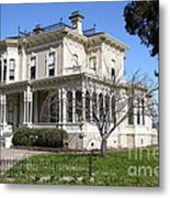 Old Victorian Camron-stanford House . Oakland California . 7d13445 Metal Print by Wingsdomain Art and Photography