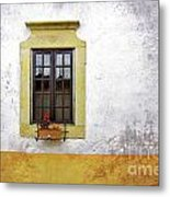 Old Window Metal Print by Carlos Caetano