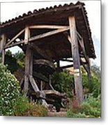Old Wine Press Metal Print by Dany Lison