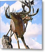 On Top Of The World Metal Print by Kristin Elmquist