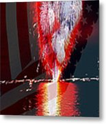 One Big Bang Metal Print by Cheryl Young