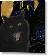 One Dark Halloween Night Metal Print by Shane Bechler