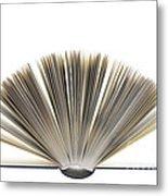 Open Book Metal Print by Frank Tschakert