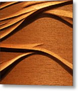 Organic Mahogany Shadows Metal Print by Charles Dancik
