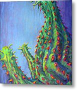 Ouch Metal Print by Tanja Ware