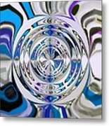 Out Of The Blue 2 Metal Print by Katina Cote