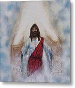 Out Of The Midst Of The Throne Came The Lamb Metal Print by Thomas Lentz