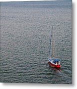 Out To Sea Metal Print by Chad Dutson