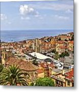Over The Roofs Of Sanremo Metal Print by Joana Kruse