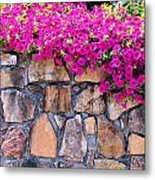 Over The Wall Metal Print by Jan Amiss Photography