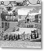 Oxford Martyrs, 1556 Metal Print by Granger
